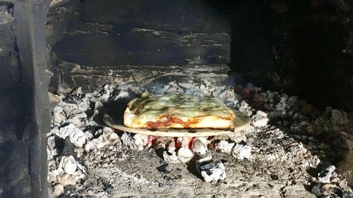 Pizza i bakerovn som aktivitet på Ullsaker