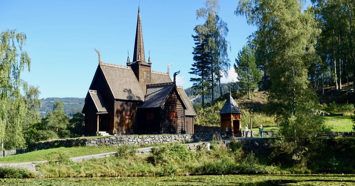 Kirke på Maihaugen i Lillehammer