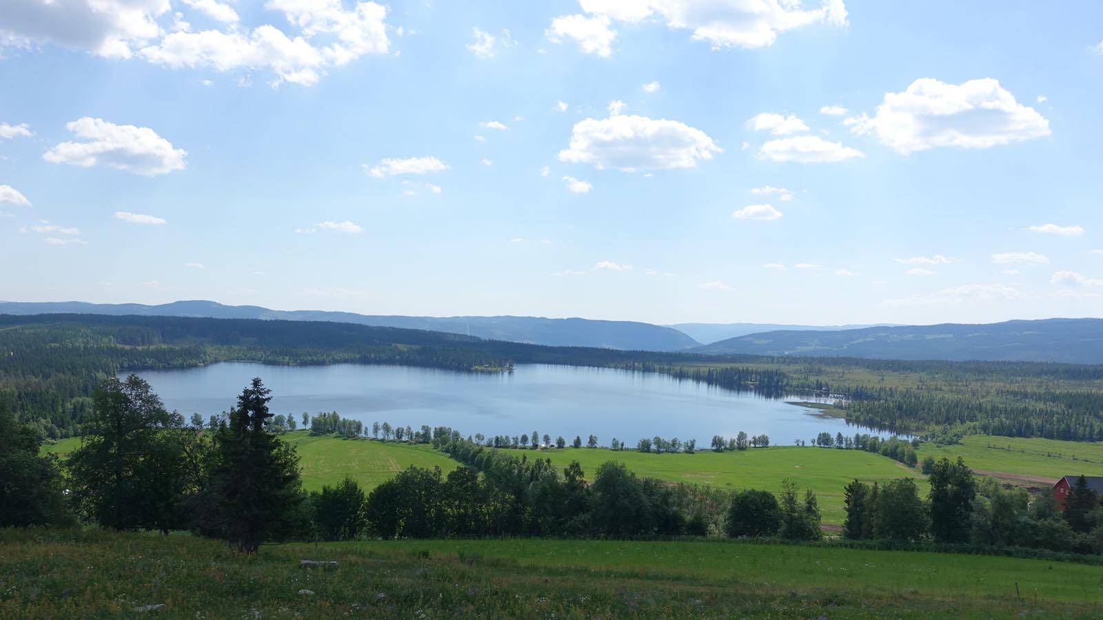Sommer er en fin utleietid på Ullsaker Panorama