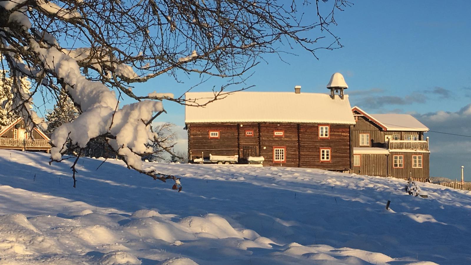 Hvit jul på Ullsaker
