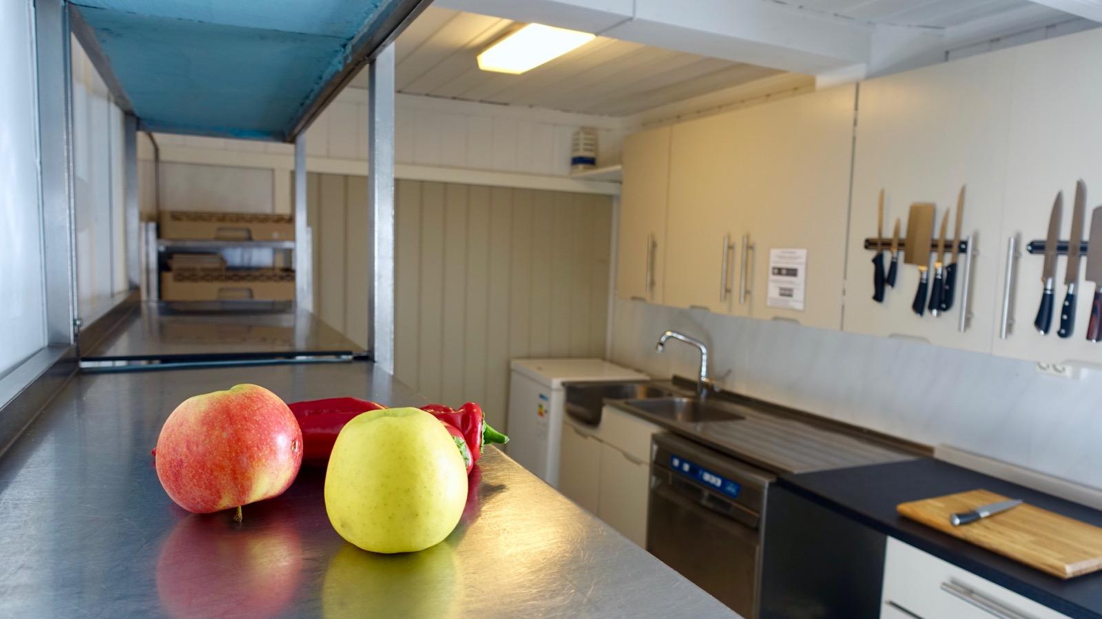 Storhusholdning kjøkken
