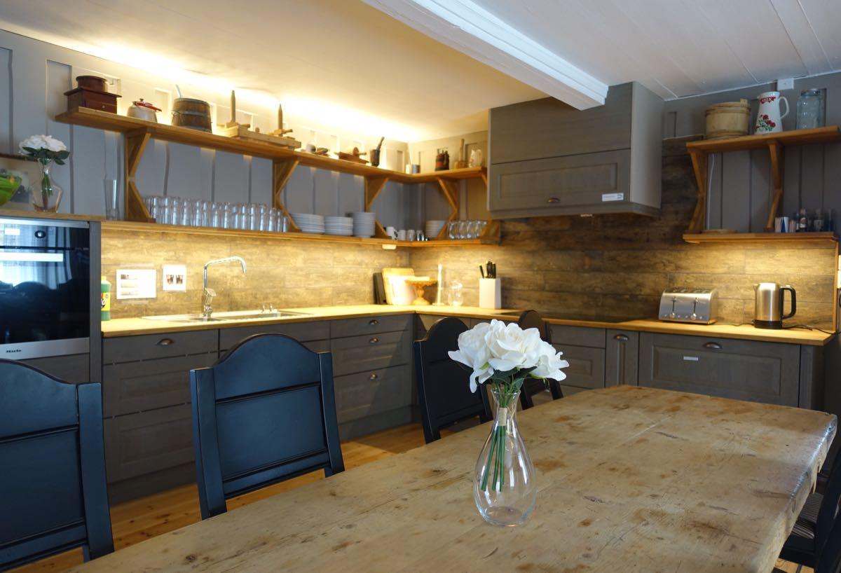 Moderne kjøkken til leie på Ullsaker Panorama