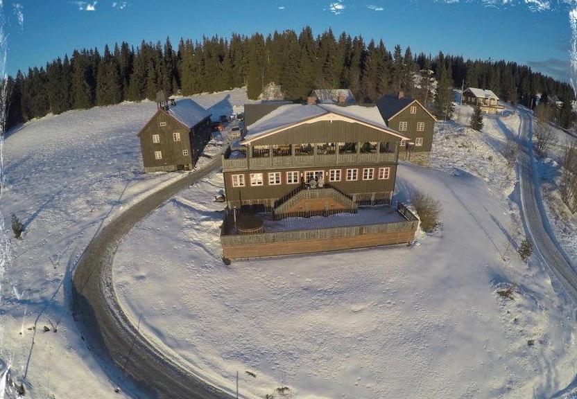 I Synnfjell ligger Ullsaker Panorama - sett fra drone