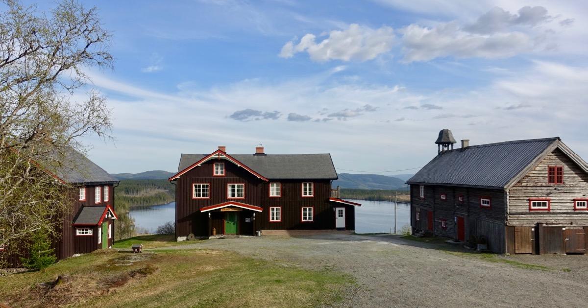 Tunet på Ullsaker Panorama