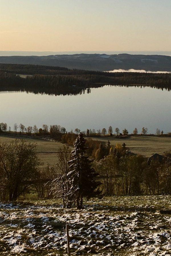 Utsikt fra Ullsaker Panorama